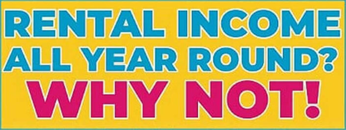 Rental Income All Year Round Header